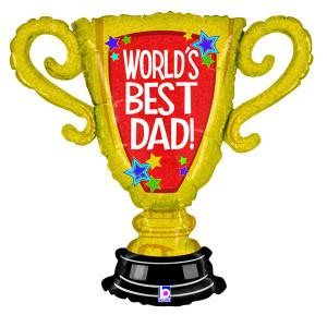 worlds best dad trophy