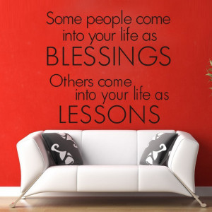 Blessings-Wall-Decals-Quotes-Removable-Vinyl-Stickers-Home-Decor-Photo ...
