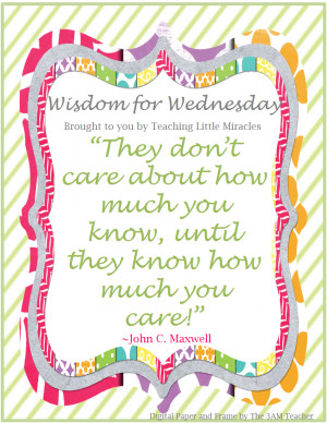 Kindergarten Teacher Quotes I found this quote and thought