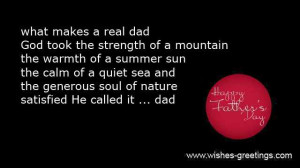 short christian messages father's day