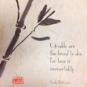 Quote by Emily Dickinson