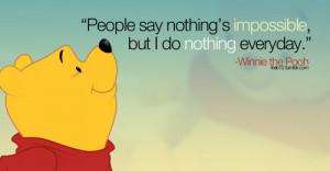 cartoon, quotes, typography, winnie the pooh