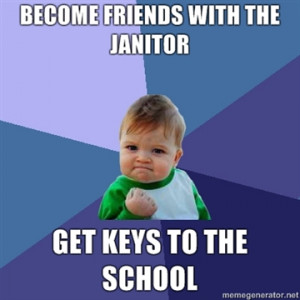 quote for school janitors