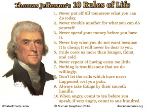 Post image for Poster and Quote: The Wisdom of Thomas Jefferson
