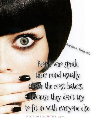 Hater Quotes Mind Quotes