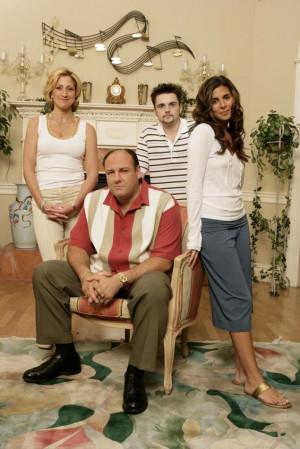 Soprano family from the wildly popular HBO drama series 'The Sopranos ...