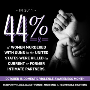 It's Domestic Violence Awareness Month