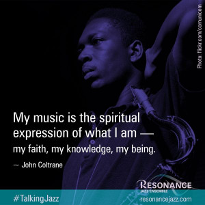 ... ResonanceJazz: #TalkingJazz visual campaign | #jazz #music #quote