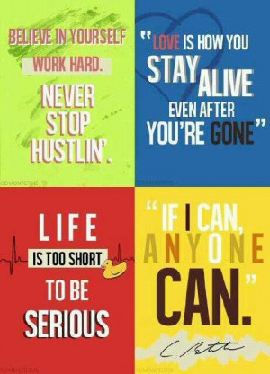 Cory Monteith (Finn) quotes.
