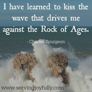 Big waves against the rocks