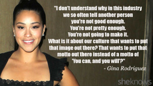 Gina Rodriguez Quote