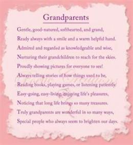 Grandma and Grandpa Sayings
