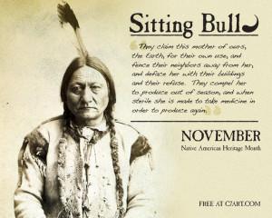 Sitting Bull Quotes