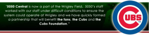 The Cubs experienced a 75% increase vs manually operated raffles.