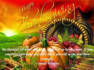 Best Famous Thanksgiving Pictures and Quotes