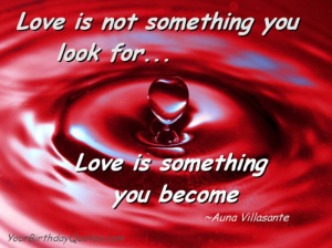 Become Love – Quotes About Love