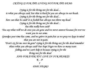 Images for I Miss You Grandpa Poem