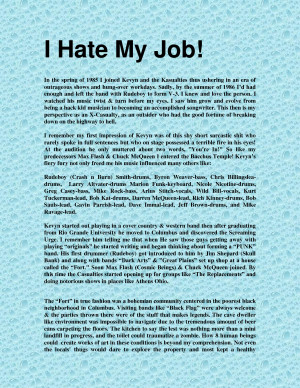 Hate My Job. I Hate My Job Quotes. View Original . [Updated on 12/15 ...