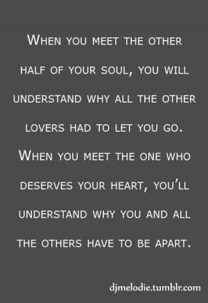Quote love soul mate