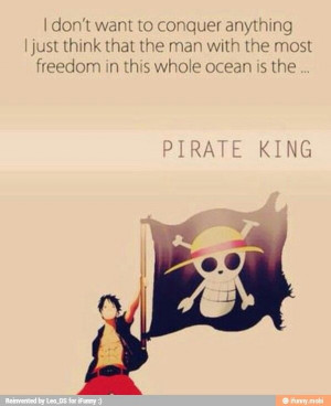 Luffy quote