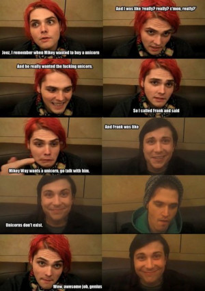 My Chemical Romance Good job, Frank.