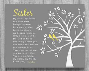 Step Sister Birthday Poems