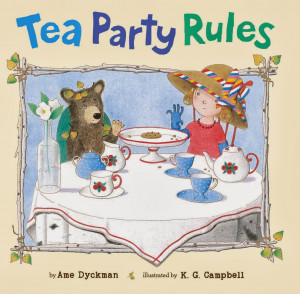 am giving away one copy of Tea Party Rules .