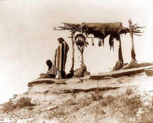 About Native American Burial And Graves