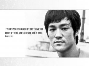 Bruce Lee motivational quote