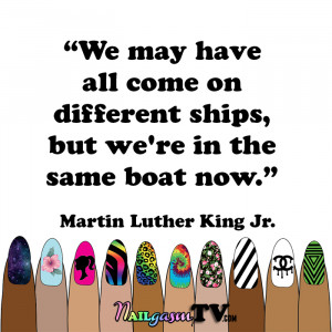 ... diversity of the nail art community. | #nails #quotes #diversity