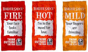 Taco Bell Sauce Packets Sayings