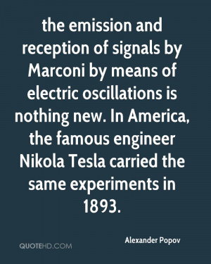 the emission and reception of signals by Marconi by means of electric ...