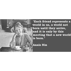 Friendship Quote Anais Nin
