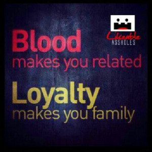 Loyalty: Un-Dying Love for my Father!