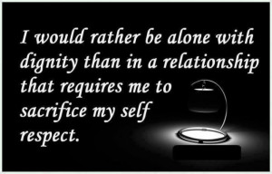 Meaningful sayings quotes and self respect relationships