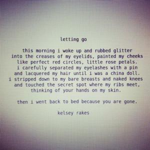 letting go by estallidos
