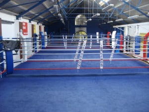 Empty Boxing Ring Boxer kenny egan out