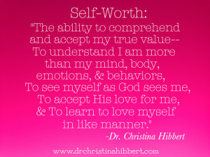 """... Esteem is a Myth, then What is the Truth?"""": Understanding Self-Worth"""