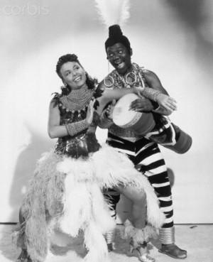 Harold Nicholas and Dorothy Dandridge