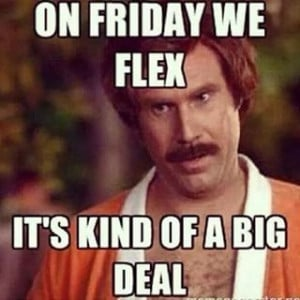 love to flex!! How about you? #flexfriday #friday ...