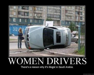 Demotivational Posters - Women Drivers (11)