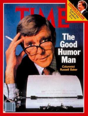 Russell Baker - June 4, 1979 - Journalism - Media