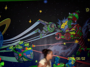 Buzz Lightyear Space Ranger Spin Image