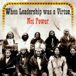 Native American Indians Leadership