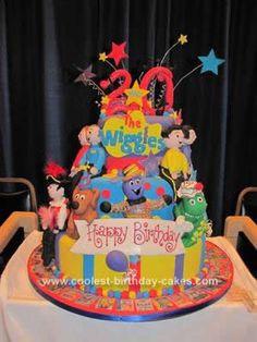 Homemade Wiggles Birthday Cake: This Homemade Wiggles Birthday Cake is ...