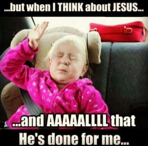 My soul cries out HALLELUJAH!