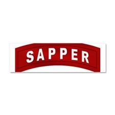 Sapper Tab Car Magnet 10 x 3 for