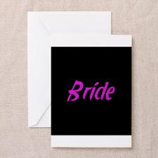 Bride - Fun Pink Greeting Cards (Pk of 10) for