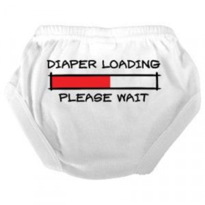 Baby Picture Funny Quotes About His Diaper The