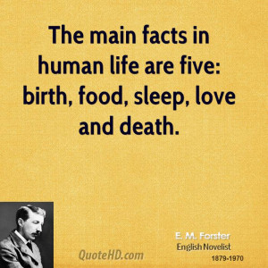forster-life-quotes-the-main-facts-in-human-life-are-five-birth ...